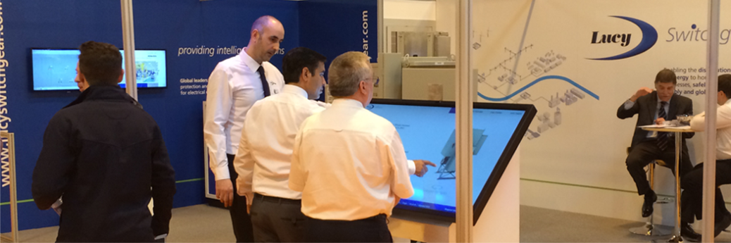 touch screens for exhibitions